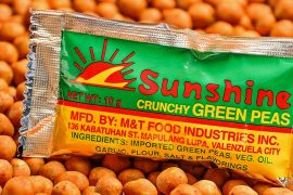 Growing Up with Sunshine Green Peas